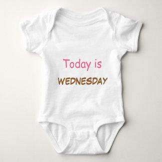 Today is Wednesday Baby Bodysuit