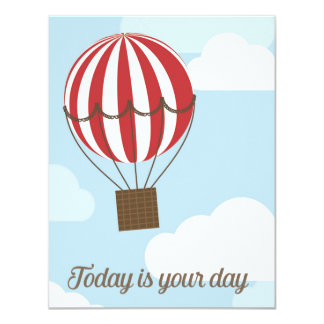 Today is Your Day 11 Cm X 14 Cm Invitation Card