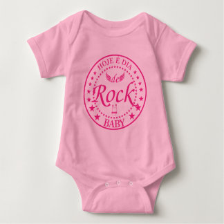 TODAY IT IS DAY DE ROCK. Limited edition ROSA Baby Bodysuit