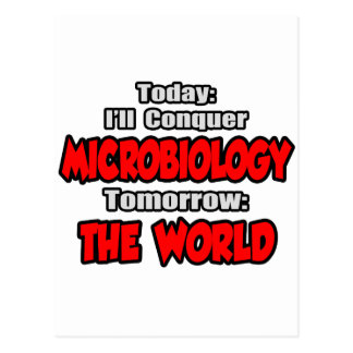 Today Microbiology...Tomorrow, The World Postcard