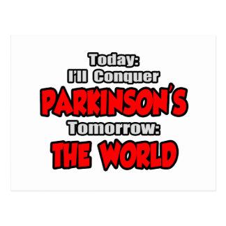 Today Parkinson's .. Tomorrow, The World Postcard