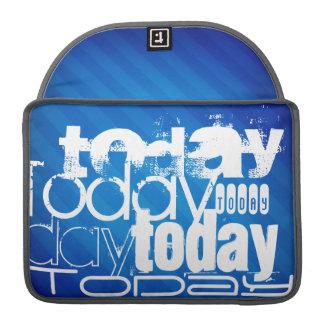 Today; Royal Blue Stripes MacBook Pro Sleeve