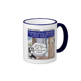 Today's Dogg™ Winter Games Ringer Coffee Mug