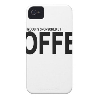 TODAY'S GOOD MOOD IS SPONSORED BY COFFEE.png Case-Mate iPhone 4 Case