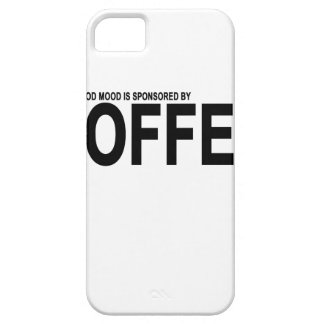 TODAY'S GOOD MOOD IS SPONSORED BY COFFEE.png iPhone SE/5/5s Case