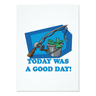 Today Was A Good Day 5x7 Paper Invitation Card