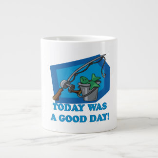 Today Was A Good Day Large Coffee Mug