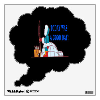 Fishing pole wall decals wall stickers zazzle for Is today a good day to go fishing