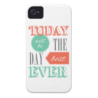 Today will be the best day Case-Mate iPhone 4 case