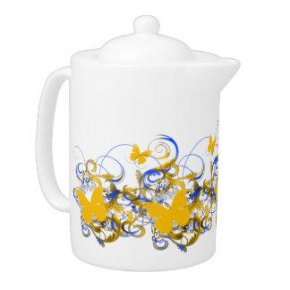 Today's Best Award Winner (TBA) Butterfly Teapot