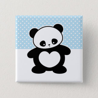 Today's Best! Kawaii panda Pinback Button