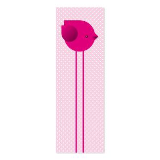 Today's Best! Love birds bookmark Mini Business Card