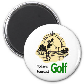 "Todays Fourcast ""Golf"" Magnet"