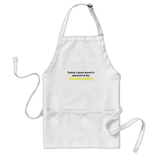 Todays Good Mood is Sponsored by Cabernet Adult Apron