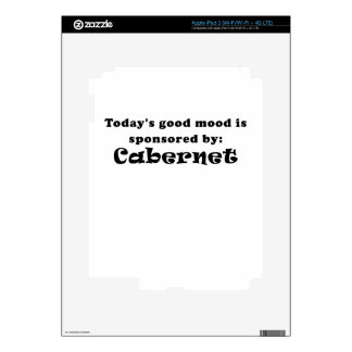 Todays Good Mood is Sponsored by Cabernet Decals For iPad 3
