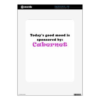 Todays Good Mood is Sponsored by Cabernet Decals For The iPad