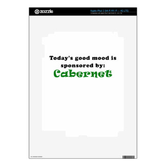 Todays Good Mood is Sponsored by Cabernet iPad 3 Skins