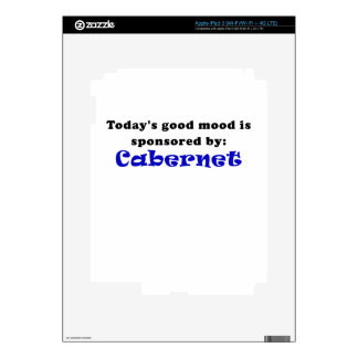 Todays Good Mood is Sponsored by Cabernet Skins For iPad 3