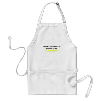 Todays Good Mood is Sponsored by Merlot Adult Apron