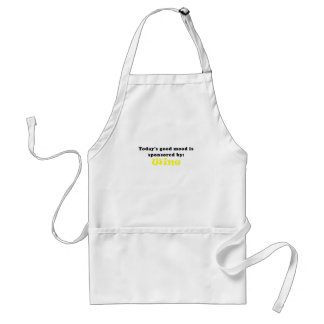 Todays Good Mood is Sponsored by Wine Adult Apron