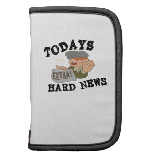 Todays Hard News Planners