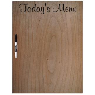 Today's Menu Large Dry Erase Board w/Pen