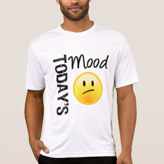 Today's Mood Emoticon Disappointed T-shirt