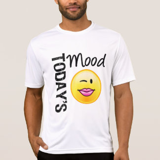 Today's Mood Emoticon Flirty Tshirts