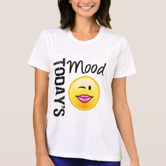 Today's Mood Emoticon Flirty Tee Shirts