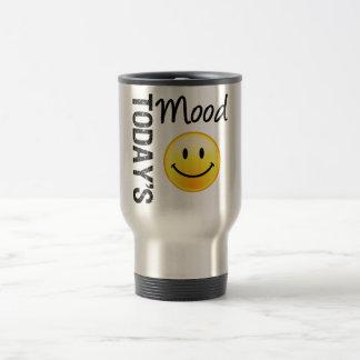 Today's Mood Smile 15 Oz Stainless Steel Travel Mug