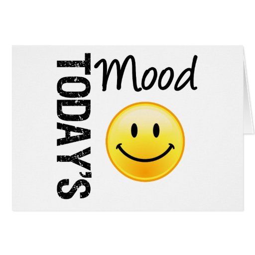 Today's Mood Smile Card