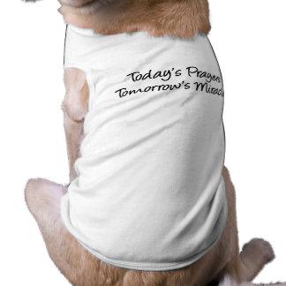 Today's Prayers Doggie Tee Shirt