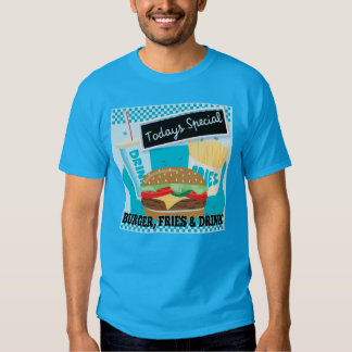 Todays Special - Burger Fries & Drink T-shirt