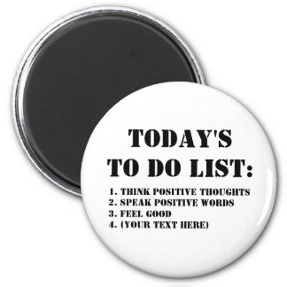 Today's To Do List: Magnet