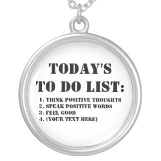 Today's To Do List: Necklace