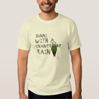Today's weather forecast tee shirts