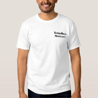 TodaysTechNow.com Embroidered T-Shirt