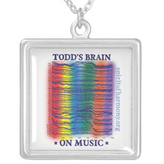 todd-brain silver plated necklace