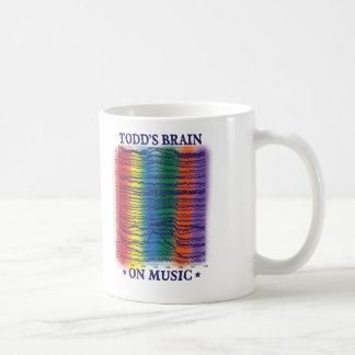 todd-cerebro taza clásica