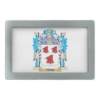 Todd Coat of Arms - Family Crest Belt Buckle