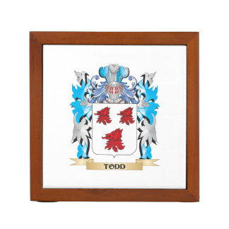 Todd Coat of Arms - Family Crest Pencil/Pen Holder