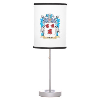 Todd Coat of Arms - Family Crest Desk Lamps