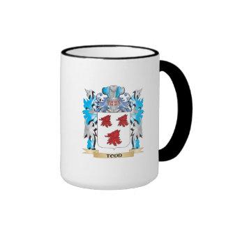 Todd Coat of Arms - Family Crest Ringer Mug