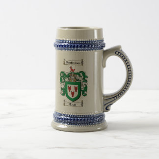 Todd Coat of Arms Stein Mugs