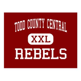 Todd County Central - Rebels - High - Elkton Postcard