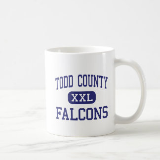 Todd County - Falcons - High - Mission Classic White Coffee Mug