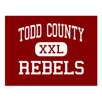 Todd County - Rebels - Middle - Elkton Kentucky Postcard
