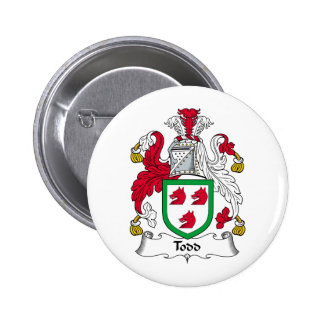 Todd Family Crest Button