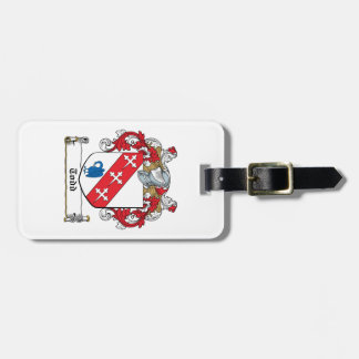 Todd Family Crest Tags For Bags
