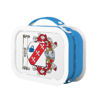 Todd Family Crest Lunch Boxes